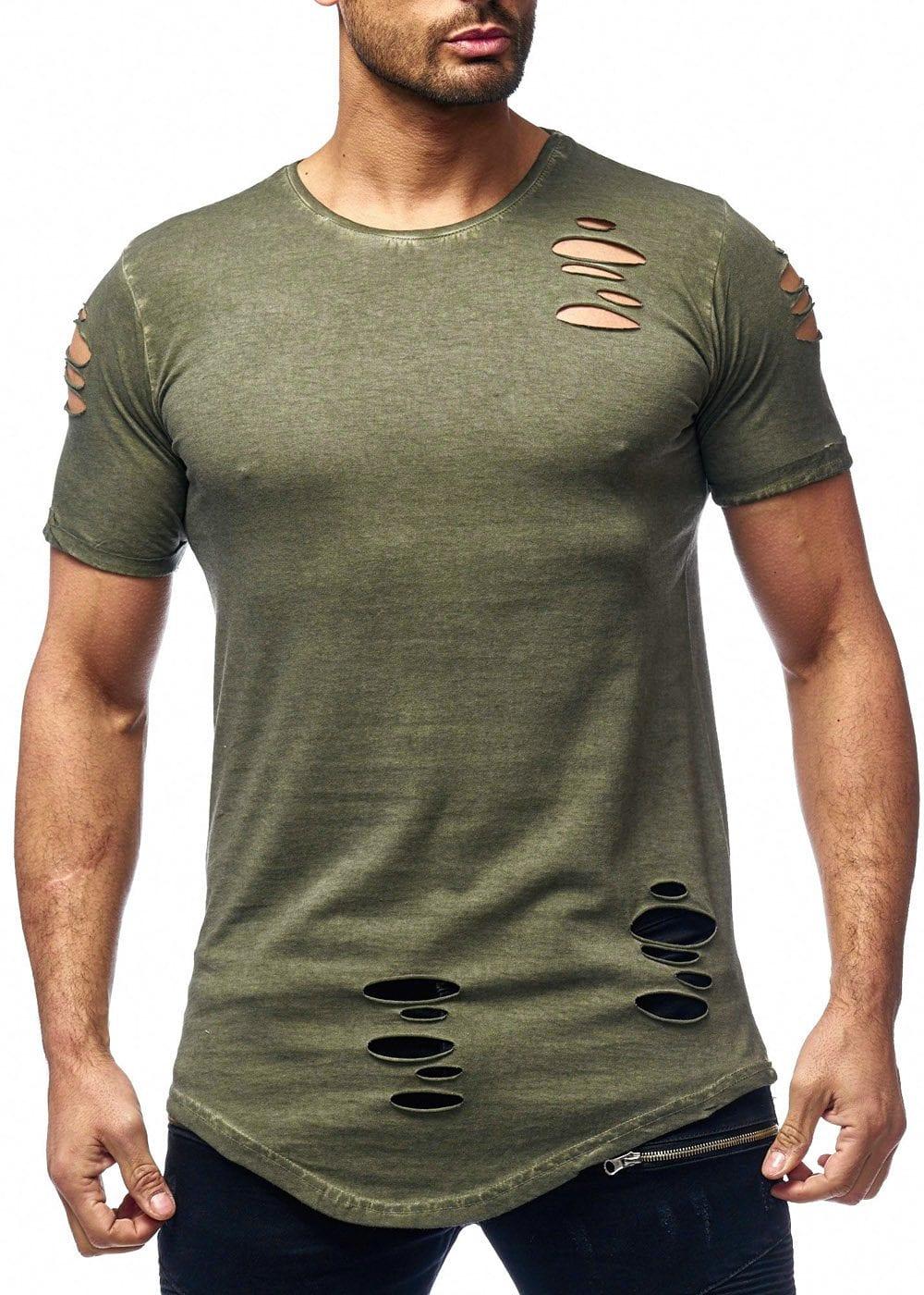 t shirt asymétrique homme