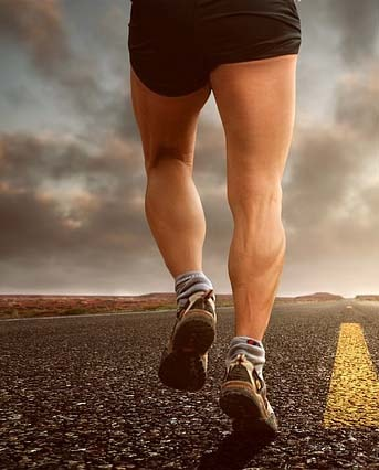 Basket running pour homme