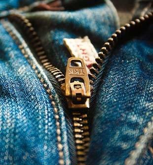 Réparer braguette jean
