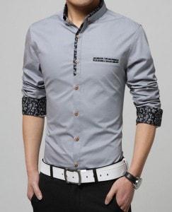 chemise cintrée homme