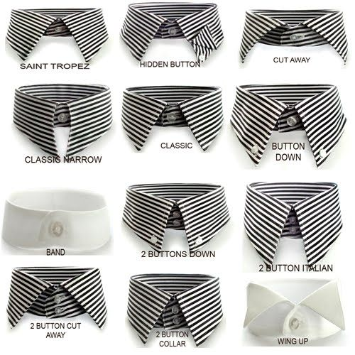 Types Of Mens Dress Shirts