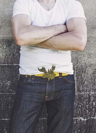 Jean pour homme musclé