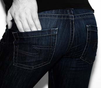 Jolie fesse en jean