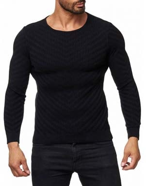 Choisir pull col rond homme