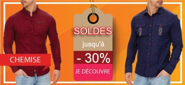 Soldes chemise homme