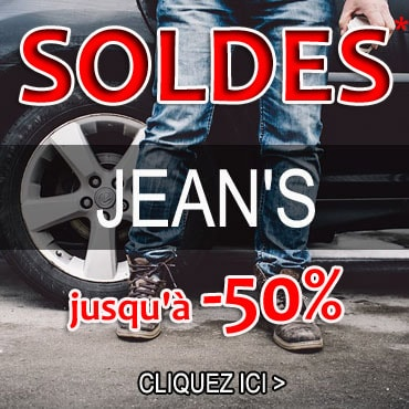 Solde jeans homme