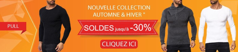 Soldes pull homme