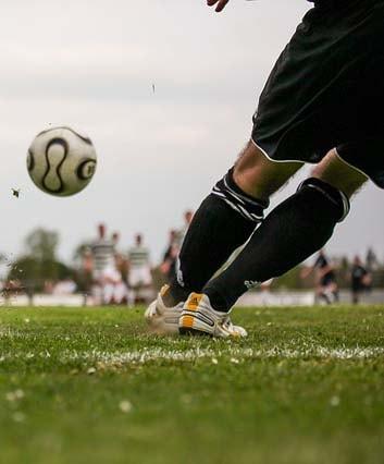Survêtement footballeur