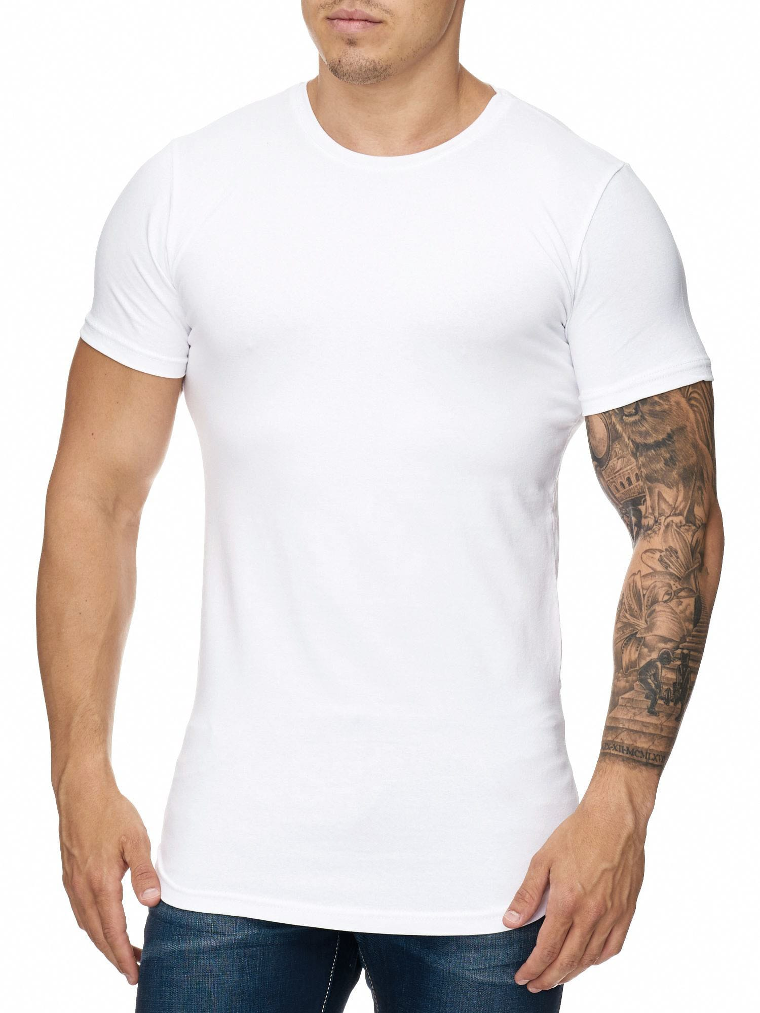 t shirt oversize blanc