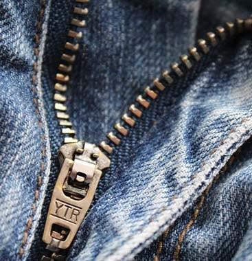 Réparer zip de jeans