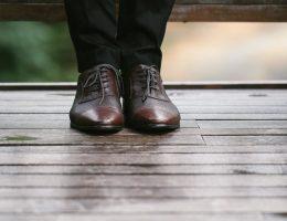 chaussure homme en cuir