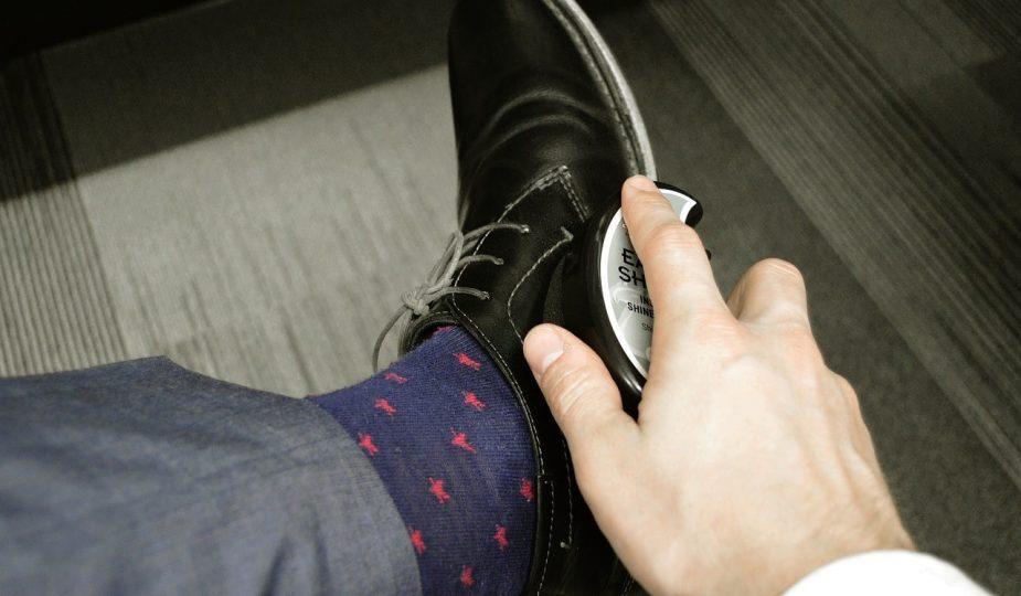 nettoyer chaussure