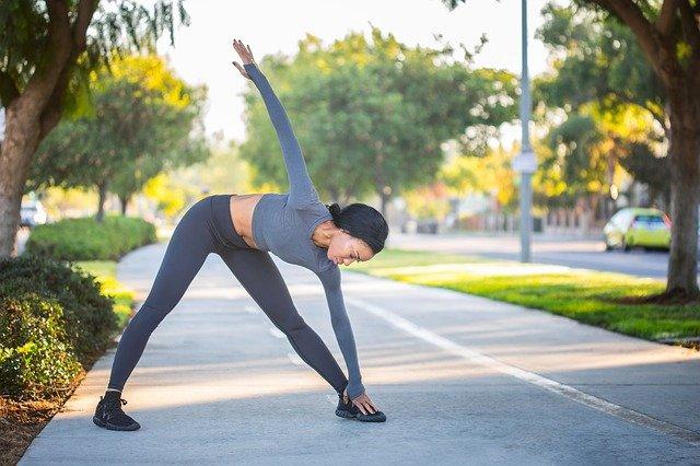 stretching et étirements